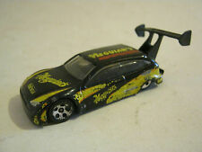 Hot Wheels Black Ford Focus Rally Car, dated 2001, Good Condition (EB8-23)