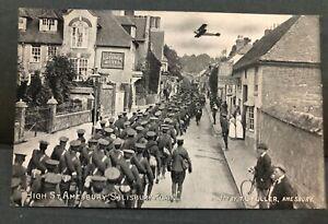 Postcard, Amesbury High Street, Salisbury, Wiltshire