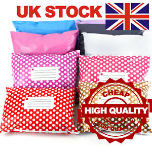 STRONG-Post-Postal-Plastic-Mailing-Bags-Postage-Self-Seal-Coloured-all-Sizes