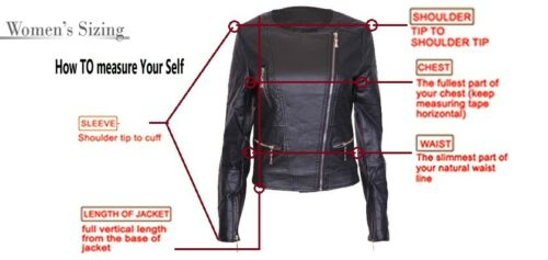URBAN Women Leather Jacket Motorcycle Slim fit Biker Genuine lambskin jacket