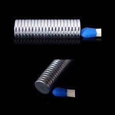 100x Neodym Magnete Scheibe 6x1 mm (N52)  NdFeB Magnet rund 6 x 1 mm