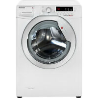 Hoover Dxcc69w3 Dynamic Next A+++ 9kg Washing Machine White / Chrome From