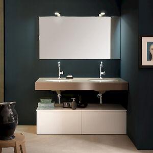 T125 03 – Mobile arredo bagno sospeso L 140 cm personalizzabile ...
