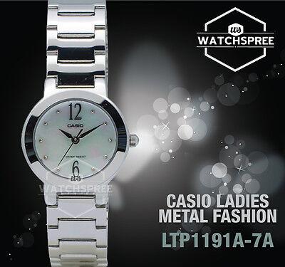 Casio Classic Series Ladies' Analog Watch LTP1191A-7A