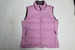 90477f4b9 Details about THE NORTH FACE 700 Womens Lilac Puffer Goose Down Winter Ski  Vest Jacket Size M