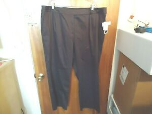 Womens-034-NWT-034-Liz-Claiborne-Audra-Size-22W-R-Brown-Dress-Casual-Pants
