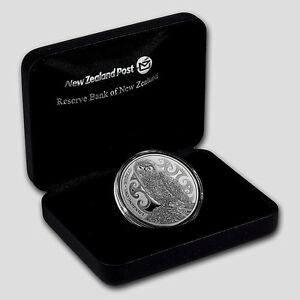 New Zealand Silver $5 Proof Coin 2015 Huia