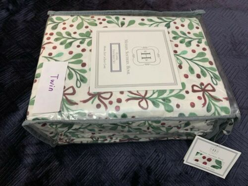 Size Twin Full Queen Modern Southern Home 100/% Cotton Flannel Sheet Set Holiday
