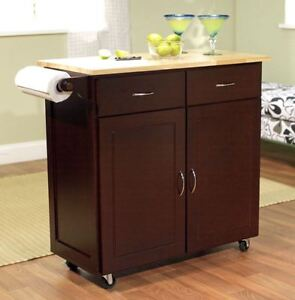 storage cabinets for the kitchen carts and islands large cart on wheels rolling ebay. Black Bedroom Furniture Sets. Home Design Ideas