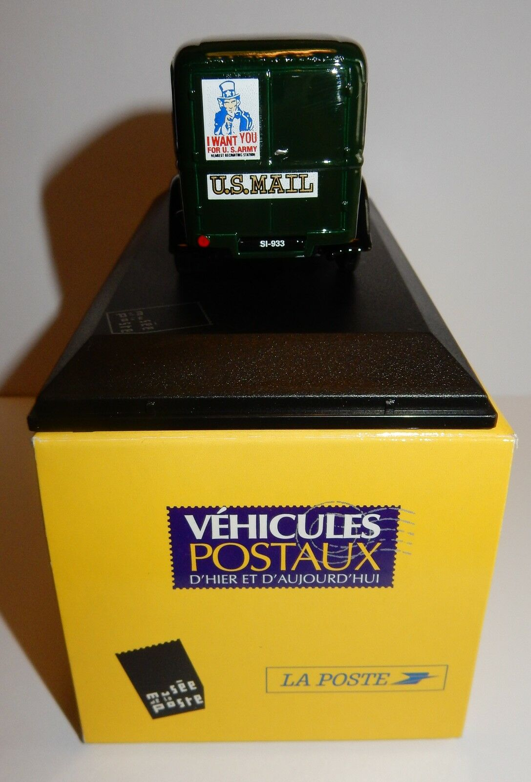 RARE MUSEE ELIGOR FORD V8 USA US MAIL 236 POSTES POSTES POSTES POSTE PTT 1 43 in luxe BOX 4cac44