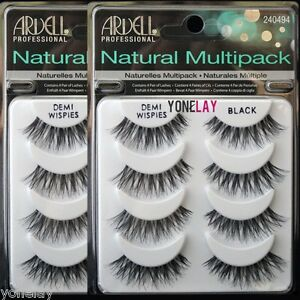 f9ee9c11580 8 Pairs ARDELL Demi Wispies Natural Multipack False Eyelashes Fake ...