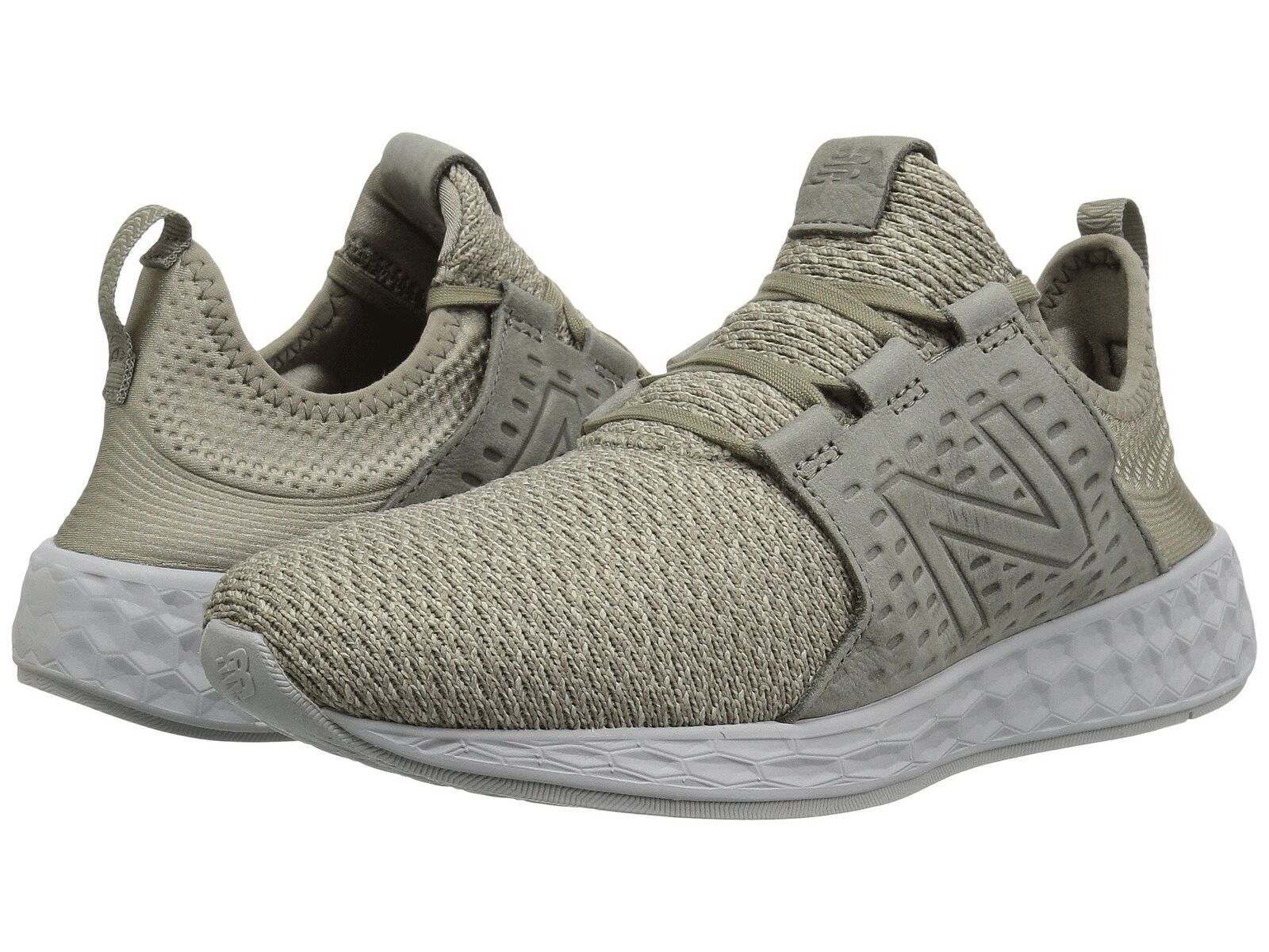 New Balance Men's Fashion Sneakers Fresh Foam Cruz Urban Stone Grey MCRUZNO