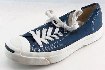 Converse Jack Purcell Fashion Sneakers Blue Fabric Women8Medium (B, M) | eBay