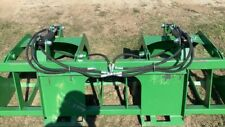 72 Heavy Duty Rock Grapple Bucket Skid Steer Loader Attachment Shipping Usa
