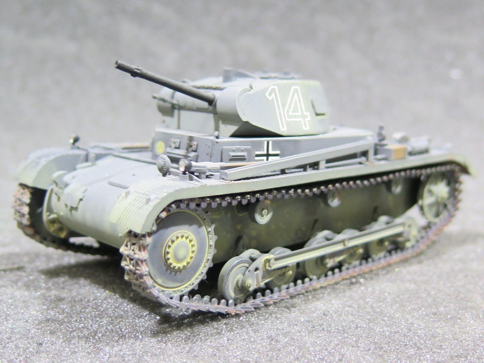 MI0732 1 35 PRO BUILT - Resin Cromwell Models Gerhomme Pz.Kpfw.II Ausf. A3