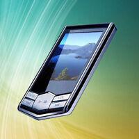 "Portable 8GB 8G Slim Black 1.8"" LCD MP3 MP4 Player FM Radio Function"