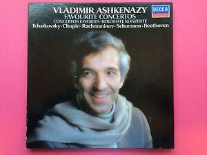 Vladimir-Ashkenazy-Favourite-Concertos-3LP-Decca-D271D-3-Ex-To-Nr-Mint-LP