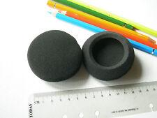 RICAMBIO : 2 SPUGNA / SPUGNE Protezioni CUFFIE 70 mm