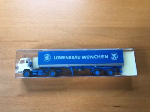 Roskopf LKW Saurer D 290//330 Sattelzug Löwenbräu München 513 OVP 1:87 H0 Bier