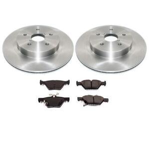 2003 2004 2005 2006 Pontiac Vibe OE Replacement Rotors w//Metallic Pads F