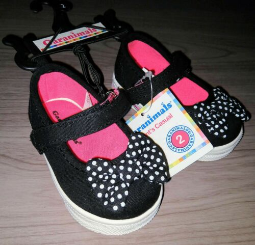 Garanimals Baby Girls/' Bow Tie Casual Mary Jane Shoes Sneakers Polka Dot