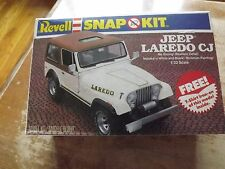 Vintage 1981 Revell Snap Jeep Laredo CJ Model Kit 1/32 Scale. Unbuilt.