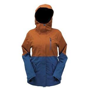 Snow Snowboard Nwt Women's Medium Ride Navy Magnolia Jacket Insulated nvUd8T