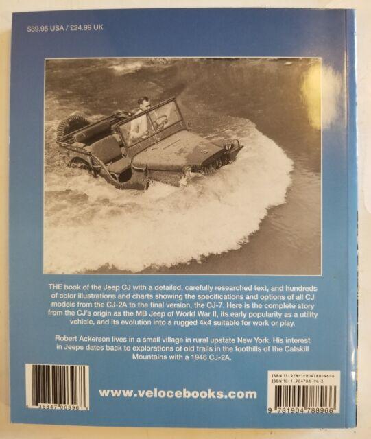 jeep cj 1945 1986 by robert ackerson (2006, paperback) ebay