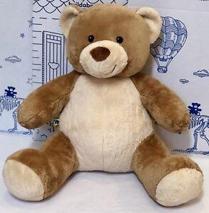 36a5ff798f7 Build a Bear Velvet Hugs Brown Tan Plush Teddy Asthma Allergy Infant ...