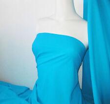 Aqua Lycra/Spandex 4 way stretch Finish Fabric