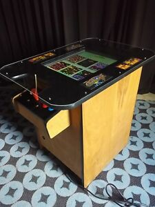 Pacman Table Game >> Details About New Ms Pac Man Galaga Cocktail Table Video Arcade Game 5 Yr Warranty Free Ship