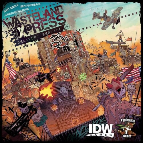 NEW Wasteland Express Delivery Service Board Game FACTORY SEALED