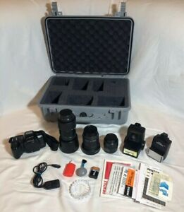 Pentax-PZ-70-Vintage-Film-Photography-Kit-With-Accessories-And-Pelican-Case