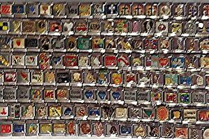 50-Assorted-9mm-Stainless-Steel-Italian-Charms-All-Different-Nice-Wholesale-Lot