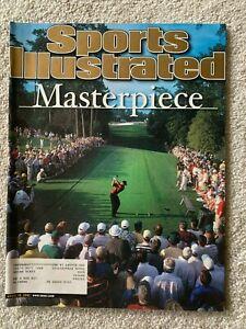 April 16, 2001 Tiger Woods Golf Sports Illustrated