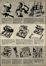 1955 PAPER AD Remco Electronic Radio Station Toy Space Patrol Helmet Gun