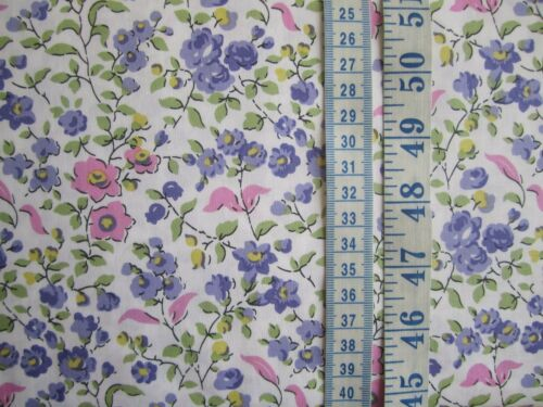 Sweet Vine in pinks and purples 100/% cotton fabric from Michael Miller
