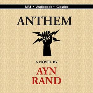 Anthem Unabridged Mp3 Audiobook In Cd Jacket Ebay