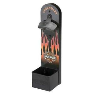 Harley Davidson Flames Wall Mount Bottle Opener (New) Calgary Alberta Preview