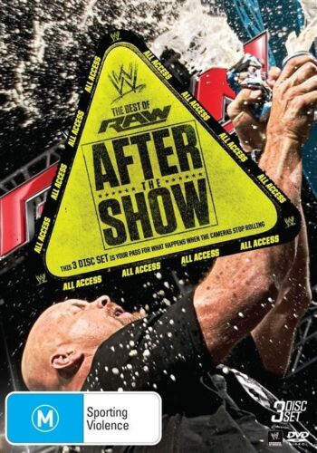 1 of 1 - WWE - Best Of RAW - After The Show (DVD, 2014, 3-Disc Set) New & Sealed