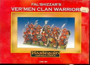 Harlequin Boite 7961 Ver'men Clan Warriors Metal