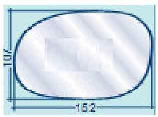 Collezione Qui 30320 Citroen C 3 Fino Al 09 Vetro Specchio Retrovisore Sx Alta Qualità