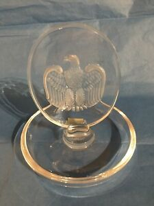 Lalique Cristal Eagle Ring-PIN TRAY 10756-afficher le titre d`origine hHUX3Kba-09155959-375559692