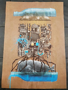 HTF-Nevercrew-Ikea-Art-Event-2015-Limited-Edition-Whale-Bottle-Poster-Print