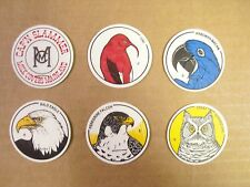 POGS/MILKCAPS WORLD BIRD SANCTUARY COMPLETE SET OF ALL (6) AWESOME