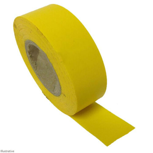 20m Yellow PVC Tape