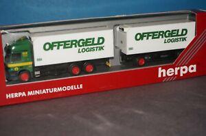 Herpa 1//87 Esso Exxon MB Actros L 96 1840 Benzintank SZ in OVP RF31