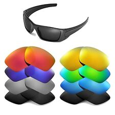 Walleva Replacement Lenses for Oakley Fuel Cell Sunglasses - Multiple Options