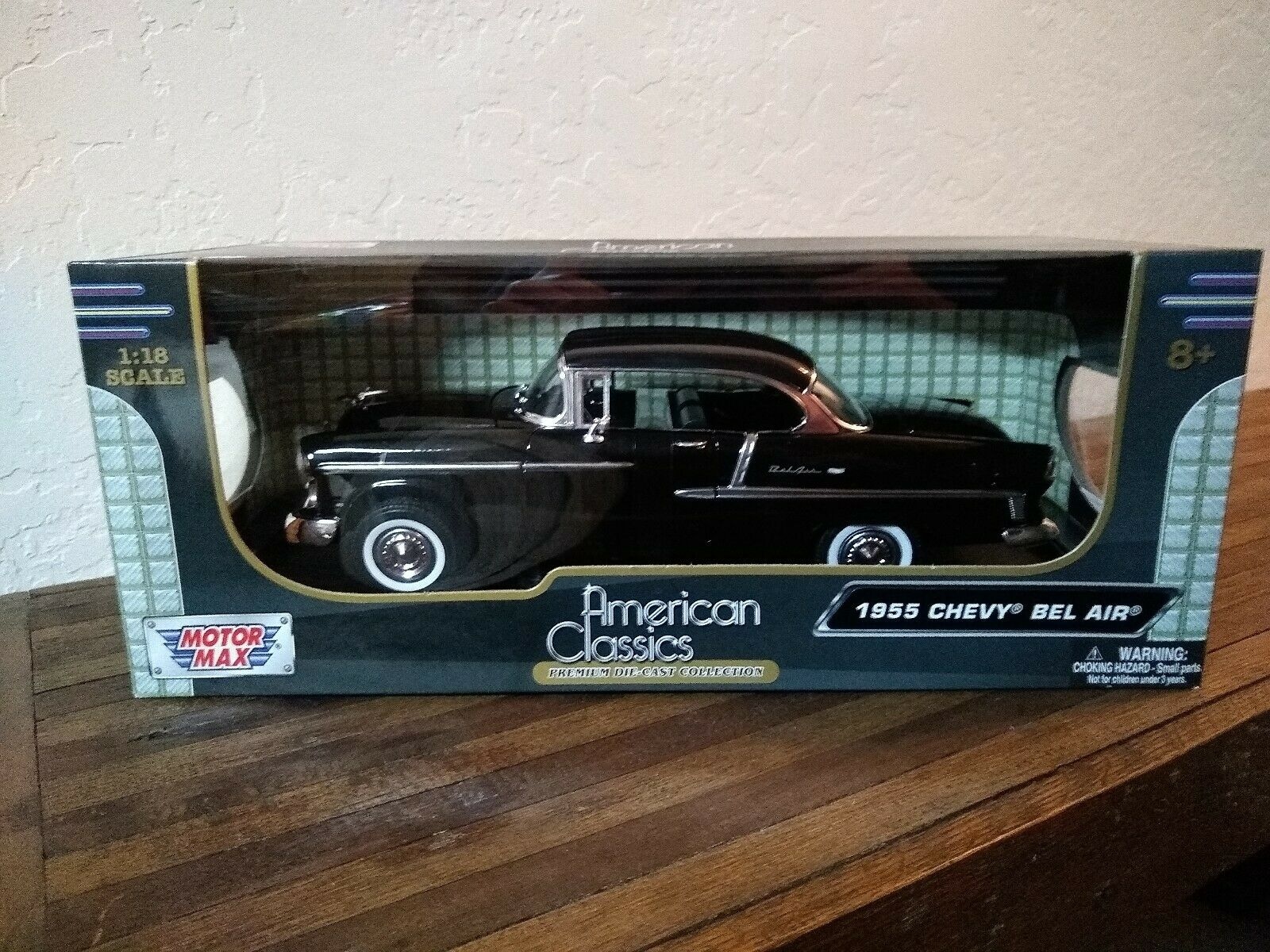 1955 Chevy Bel Air American Classics Premium Die-Cast Collections 1 18
