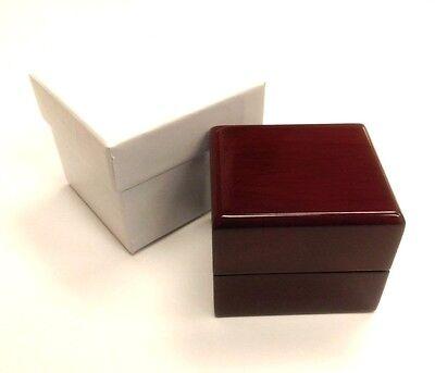 Rosewood Ring Box of 12